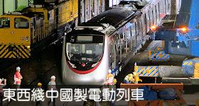 東西走廊中國製電動列車